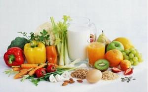 warzywa i mleko