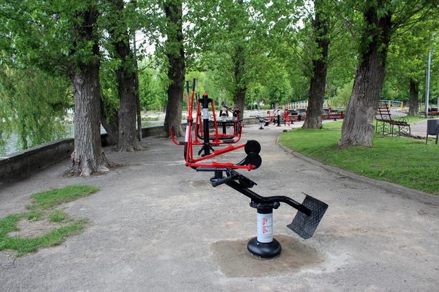 У Микитинцях встановлять вуличні антивандальні тренажери